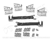 1966-77 Bronco Removable Stainless Steel Door Hinge Kit