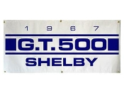 1967 Shelby GT500 Blue/white Banner