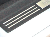 SILL PLATE ACCENT STRIPS