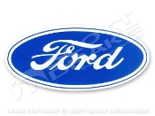FORD BLUE OVAL DECAL ( 4 SIZES)