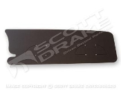 1967-68 Trunk Filler Board (Black Chipboard)
