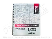 1966-73 Mustang Wiring Diagram Manual Large Format