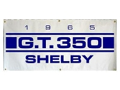 1965 Shelby GT350 Blue White