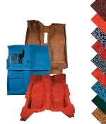 1964-73 Molded Carpet Kit  FRONT AND REAR
