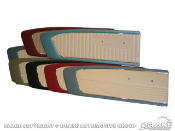 1964-73 MUSTANG DOOR PANELS PAIR QUALITY